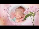 Фильм 1 годик девочке первый год слайд шоу Подарок на первый день рождения2