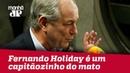 Fernando Holiday é um capitãozinho do mato, diz Ciro Gomes | Jornal da Manhã