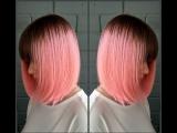 Bubble Gum Розовые волосы окрашивание HAIR_MUSIC_STYLE