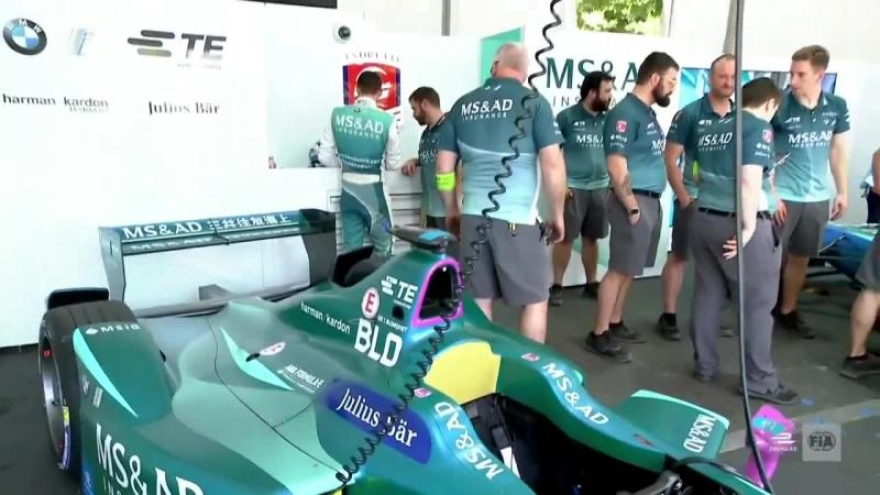 FormulaE 2017 2018 Round 4 Santiago Shakedown