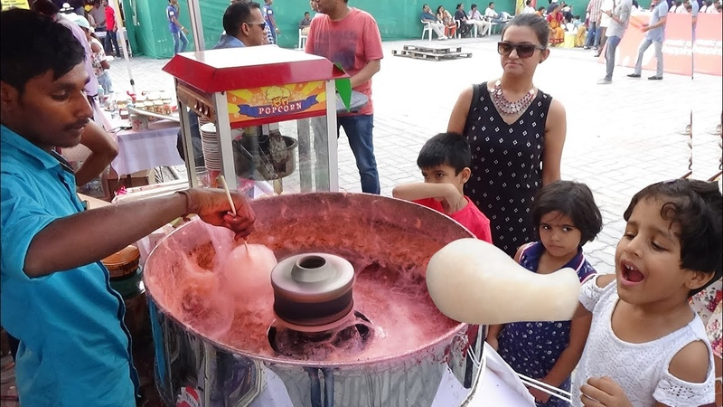 Kids Famous Food Pichu Mitai Popcorn   World Exhibition Famous Foods for Kids   Indian Street Food