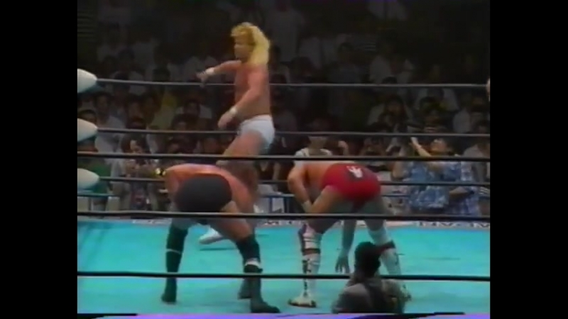 1993.07.19 - Steve Williams/Terry Gordy vs. Stan Hansen/Johnny Ace [JIP]