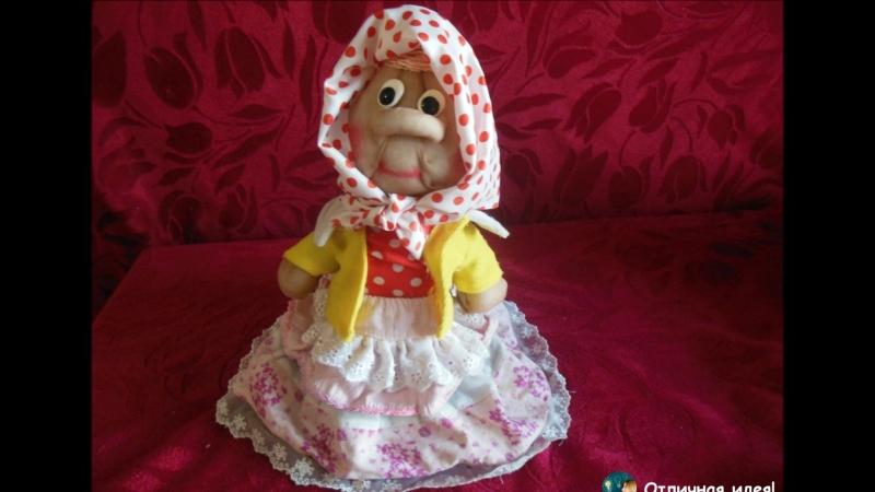 Кукла из капроновых колготок :)