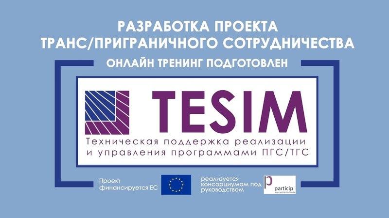 TESIM Онлайн тренинг - Разработка проекта 1. Aнализ проблем