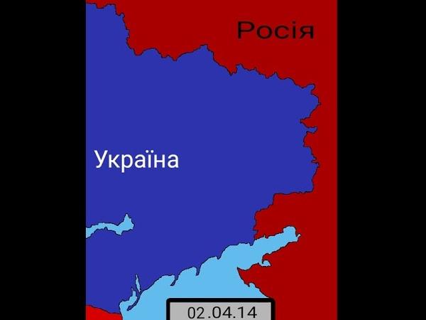 МАППИНГ Война на Донбассе