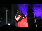 O sole mio. Angela Gheorghiu and Mario Frangoulis. Athen. 23.9.2017