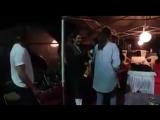 Шах Рукх Кхан и Анушка Шарма празднуют день рождения телохранителя Анушки на съемках #ZERO
