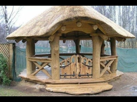 🔴 Wooden GAZEBO. The best! ▶️ More Than 50 Options!