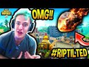 NINJA ANNOUNCES TILTED TOWERS WILL BE DESTROYED BY A METEOR! *PROOF* Fortnite SAVAGE & FUNNY Moments