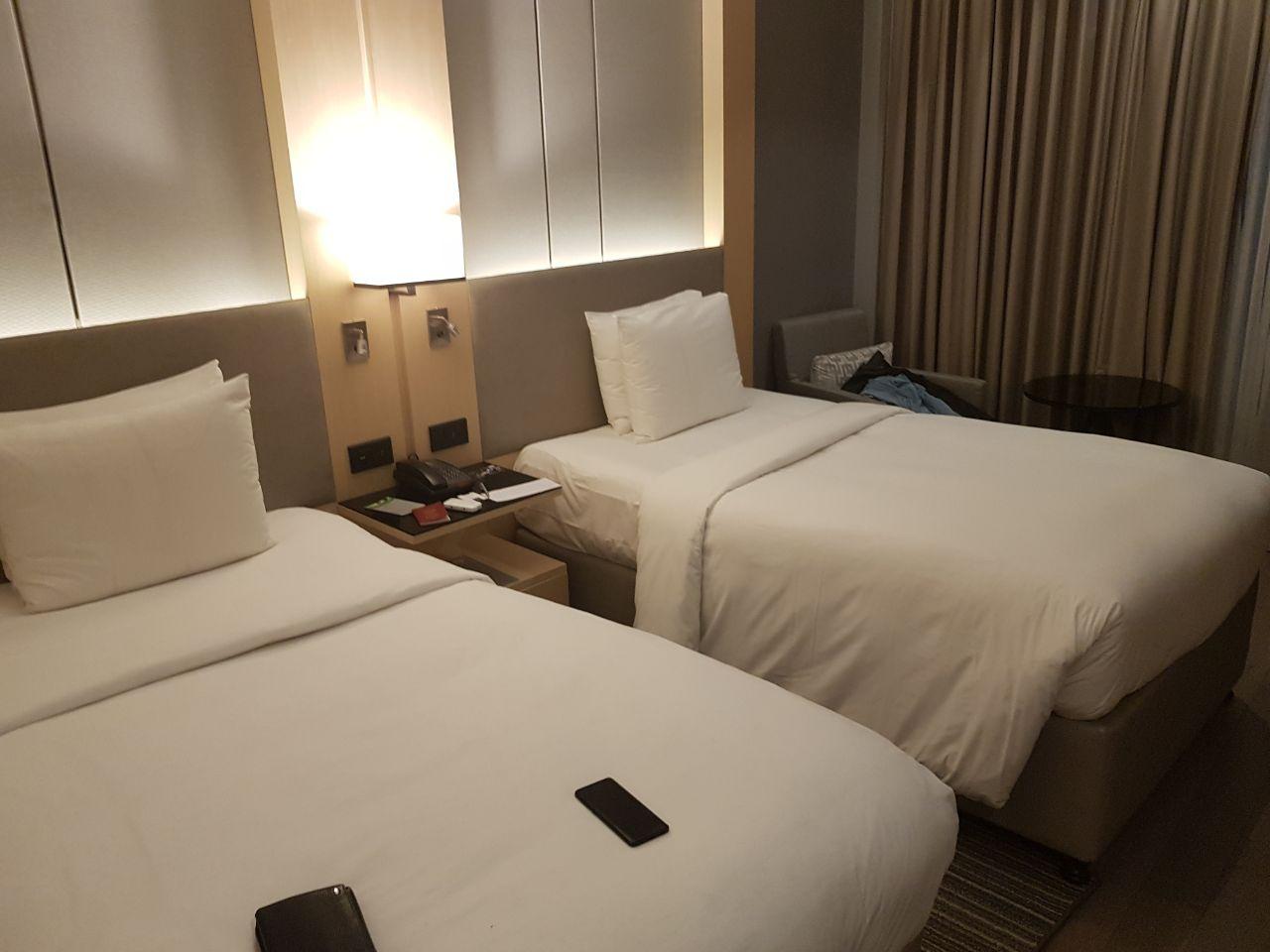 Номера в отеле как и везде цивильно и уютно