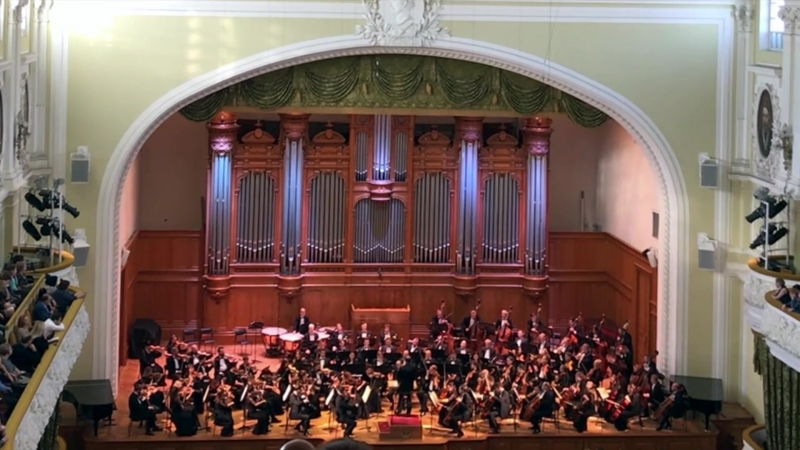 Симфония 7, Allegretto, Бетховен. Павел Коган. Московская консерватория.