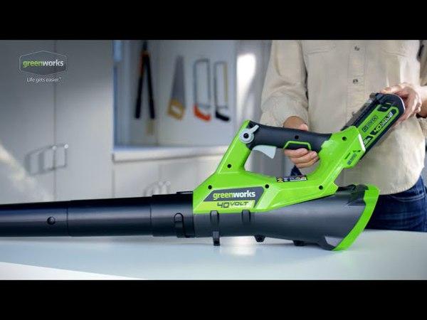 G-MAX 40-Volt, 110MPH Axial Blower