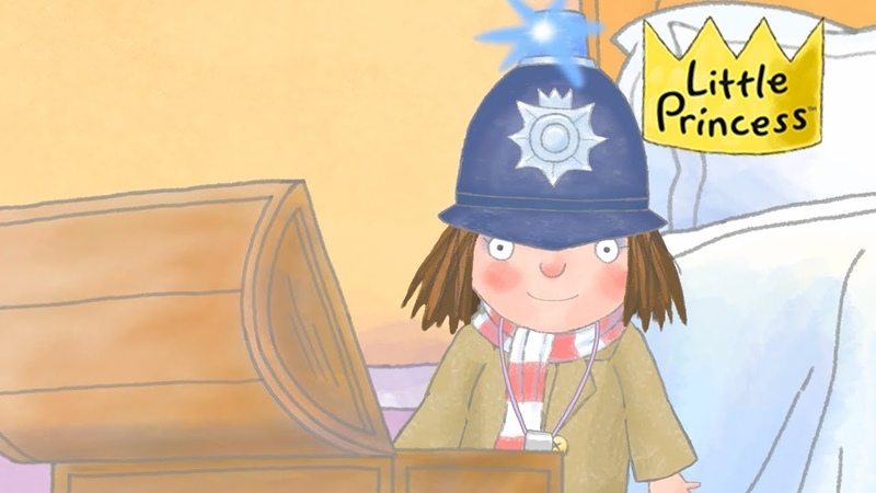 I Want to Be a Police Officer | 👑 Cartoons For Kids 👑 | Little Princess