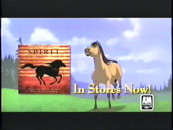 Spirit Stallion of the Cimarron Soundtrack 2002 Promo VHS Capture