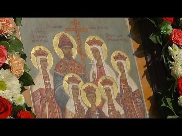 Ночная божественная литургия в память Царственных Стастотерпцев 17 июля 2018 года