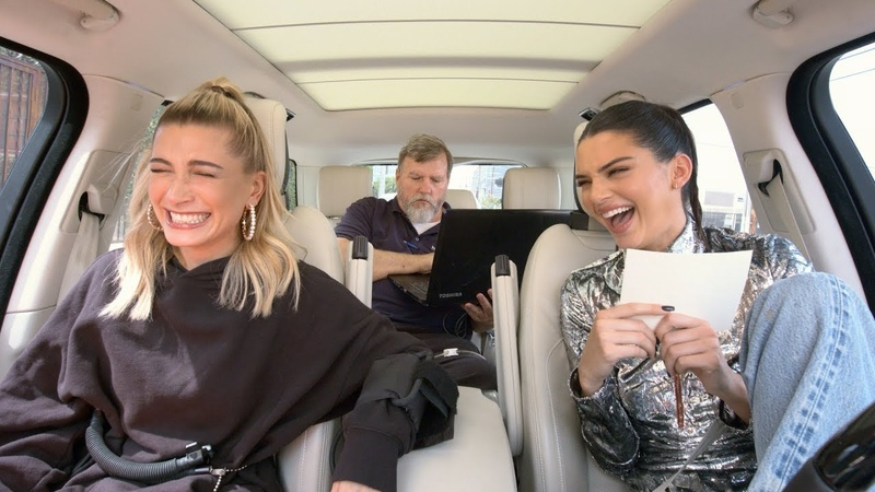 Carpool Karaoke: The Series - Kendall Jenner Hailey Baldwin Take a Lie Detector Test