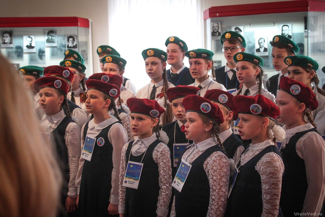 Выступление детей в Музее Кузнецова