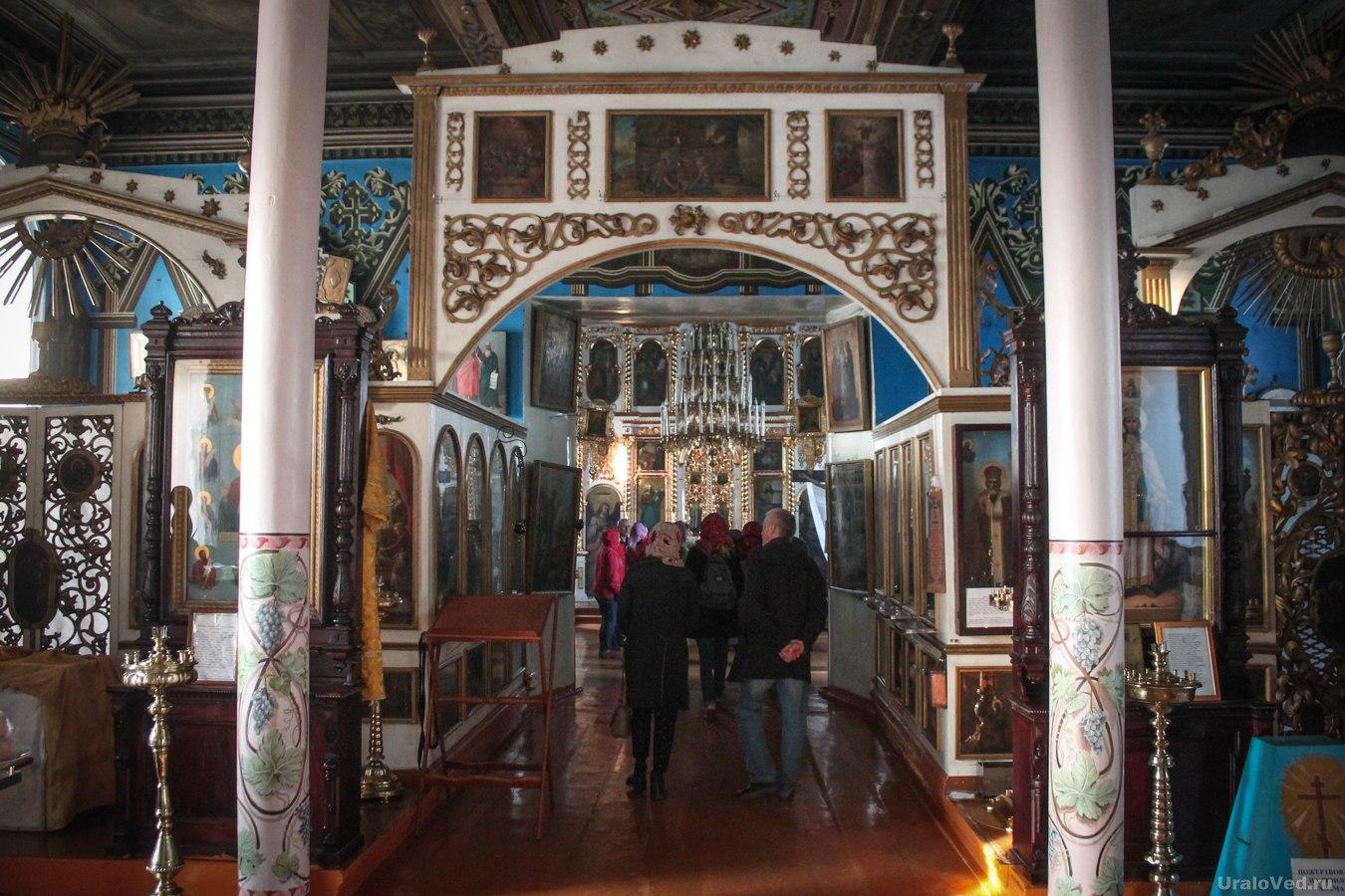 В церкви Петра и Павла в Талице
