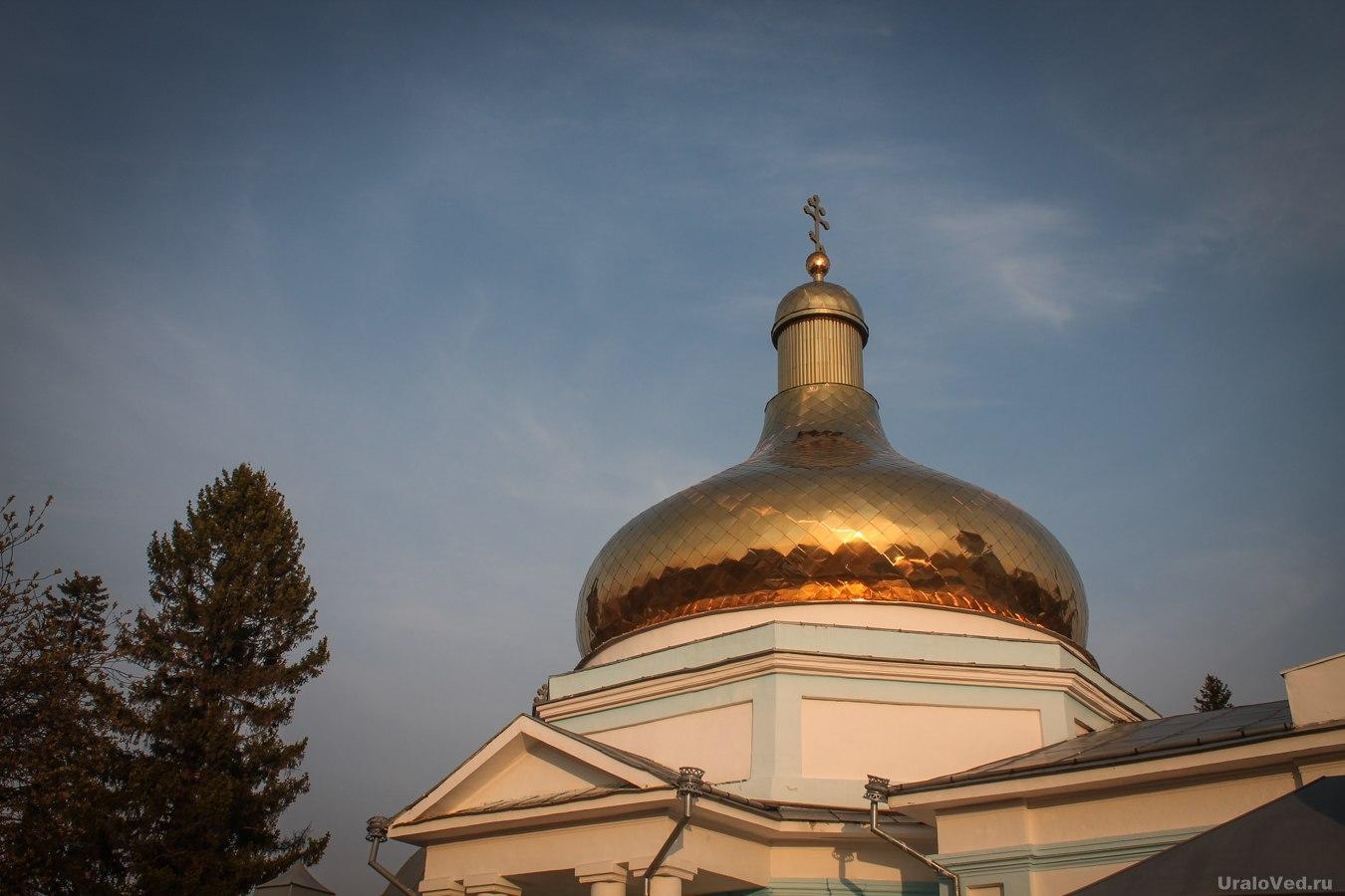 Купол церкви Петра и Павла в Талице