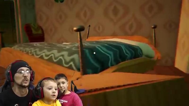 Побег из тюрьмы в HELLO NEIGHBOR FGTEEV ACT 2 - Roller Coaster, Shark Doll House Full Game Part 3