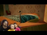 Побег из тюрьмы в HELLO NEIGHBOR: FGTEEV ACT 2 - Roller Coaster, Shark & Doll House (Full Game Part 3)