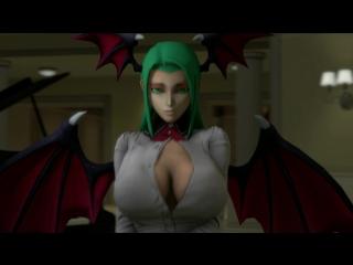 Vk.com/watchgirls rule34 darkstalkers morrigan aensland sfm 3d porn sound