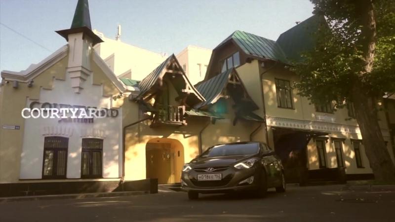 Один день из жизни делового путешественника в отеле Courtyard by Marriott Nizhny Novgorod
