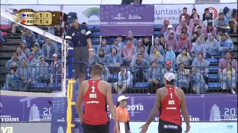 Krasilnikov_Stoyanovskiy-Semenov_Leshukov. Yangzhou 2018 World Tour _ GOLD-MATCH