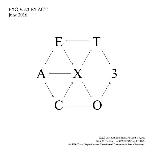 EXO альбом EX'ACT - The 3rd Album