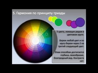Принципы гармоничного сочетания цветов