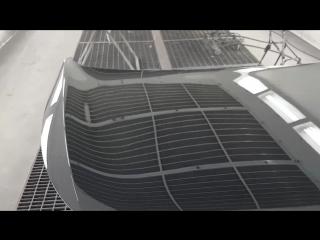 Kia . Делали кузовные с заменой элементов , готовили красили . Часть 3