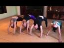 Йога разминка на трайбл фьюжн в школе танцев Мата трайб