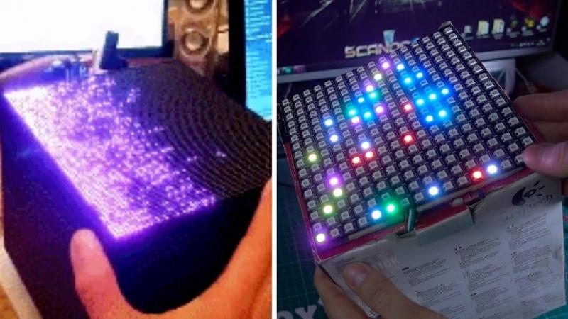 [AlexGyver] LED кубик на Arduino. Вызов принят!
