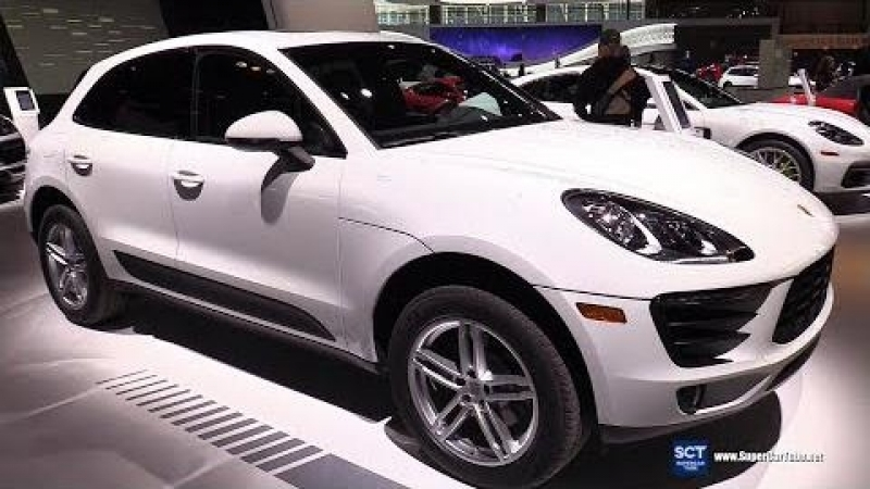 2018 Porsche Macan - Exterior and Interior Walkaround - 2018 Chicago Auto Show