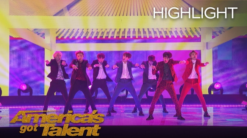 Global Sensation BTS Performs Idol on AGT - America's Got Talent 2018
