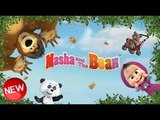 Cartoon game Masha and the bear for children 1 series Catch the fish