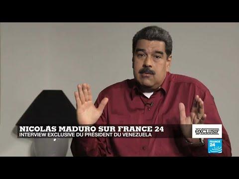Nicolás Maduro àFrance 24: Macron est un ultra-libéral qui détruit laFrance