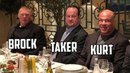 WWE Superstars Having Dinner - Brock Lesnar, Undertaker, Roman Reigns More (VIDEO)