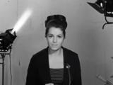 Элина Быстрицкая поздравляет телезрителей с 50-летием Советской власти. (1967).
