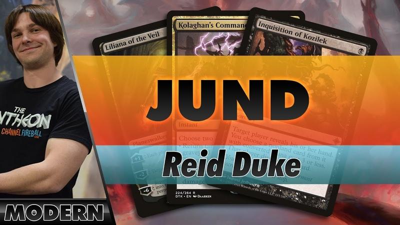 Reid Duke Plays Jund in a 9-Round Modern Challenge   Channel Reid
