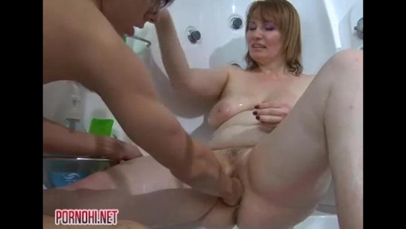 Русское порно сын сделал фистинг матери