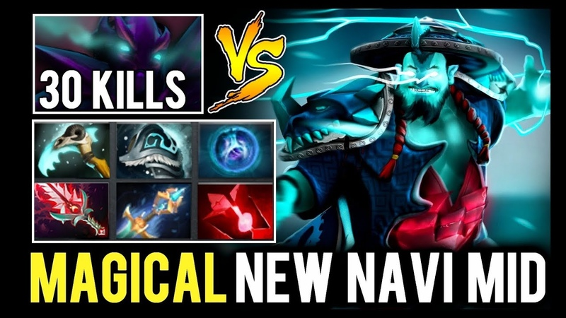 How to destroy Super Late Game Spectre - MAGICAL Storm Spirit New Navi Mid
