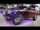 ZOLL USA CARS\\\2009 Dodge Magnum with 300C on 32s DUB HD 2018