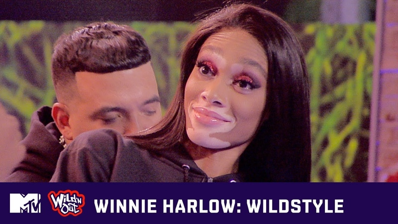 Winnie Harlow Steps Up Straight Off the Runway | Wild N Out | Wildstyle