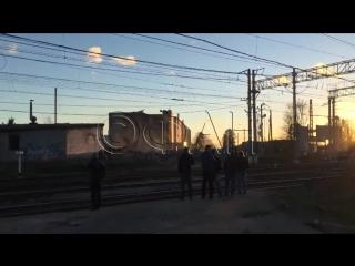 Мощный взрыв на заводе Авангард  Гатчине