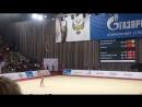 Александра Солдатова - обруч многоборье Гран-при Москва 2018