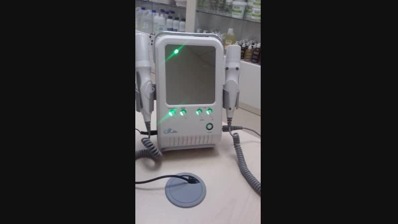 аппарат для RF лифтинга и безинеъекционной мезотерапия электропорации CR200