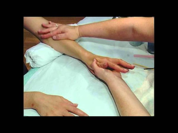 Manicure Tutorial with Helen McGuinness - Hand and Arm Massage