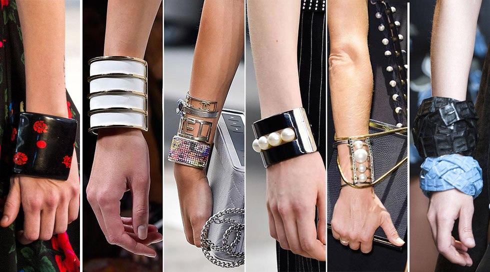Модные крупные браслеты 2018