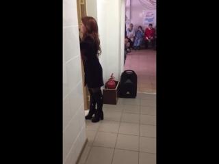 Юлия Бойко в доме-интернате для инвалидов и пожилых людей